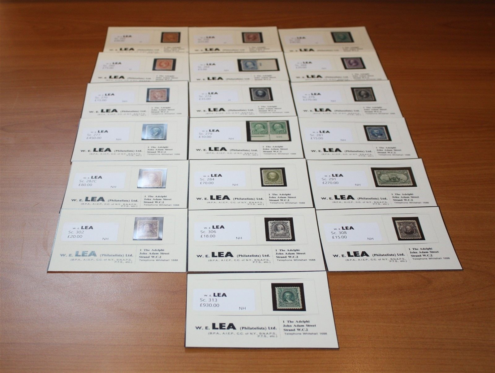 US Mint Bureaus 1 276 2 277 plus Regulars 5 313 Cat 15723
