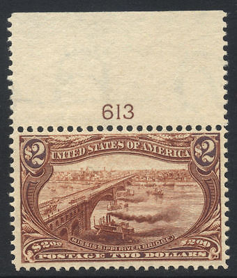 US TransMississippi Sc  293 1898 2 MINT NH Cat 6000