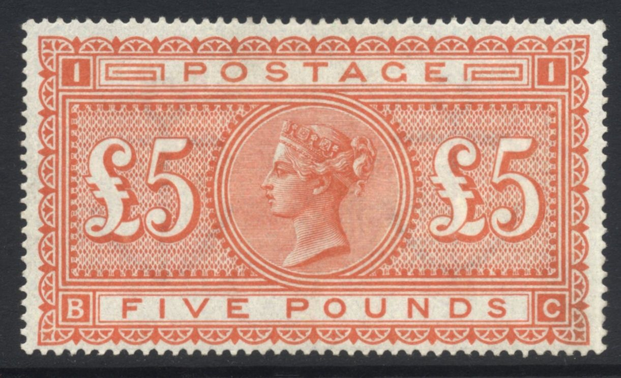 GB 186783 QV Pl 1 NH 5 SG 137 Cat 14500