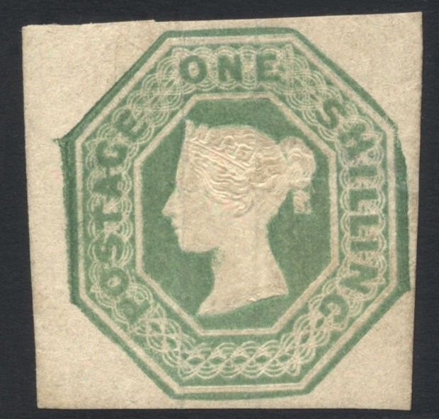 GB 184754 QV 1 SG55 Mint H Cat val 22500 33750