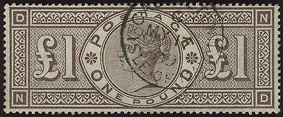 Sg 186 1 Brown Lilac  A superb used example with Isle of Man steel cds