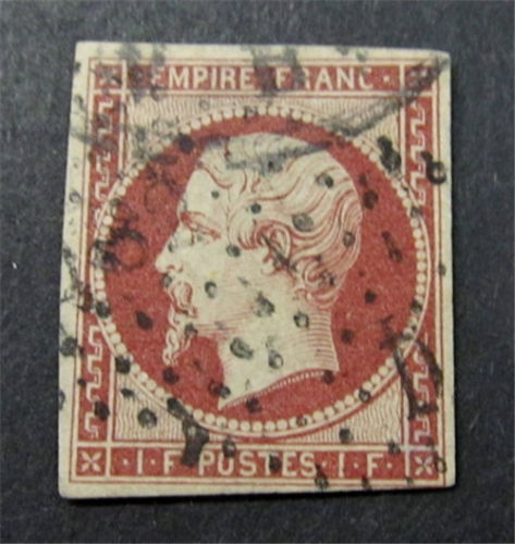 Stamps Price Guide : nystamps France Stamp Ce 18 Used 3000